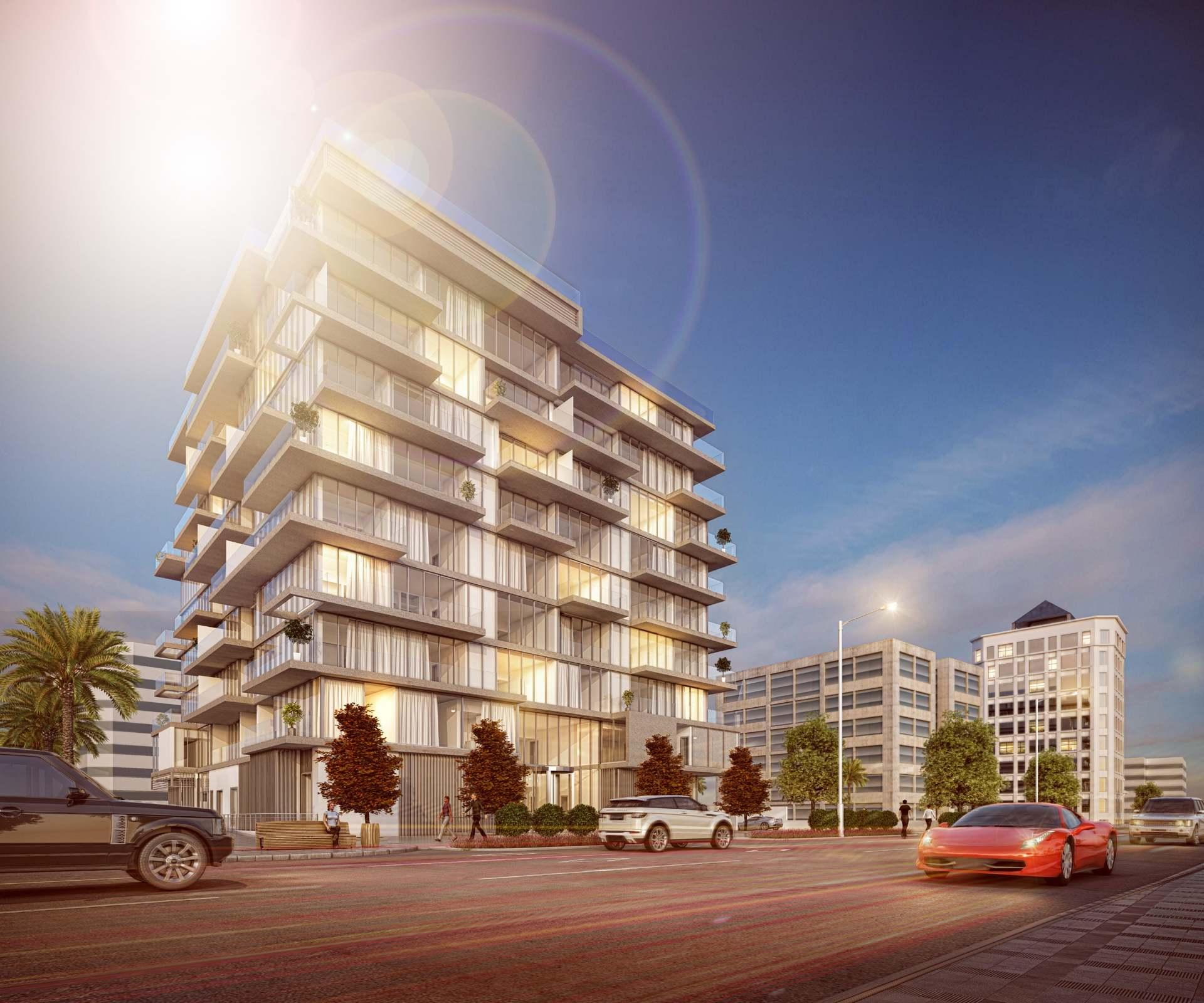 Unique beachfront residence building